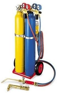 Autogenschweißgerät Dreigasanlage von Rothenberger