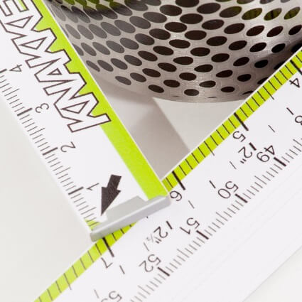 Besondere Skala auf Meterstab