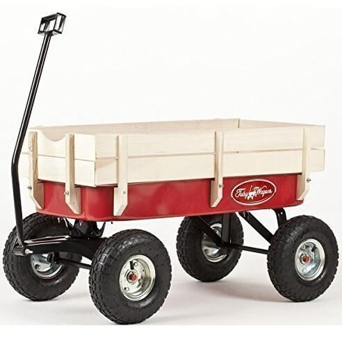 Guter Holz-Bollerwagen