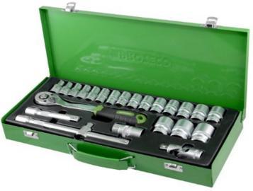 Proteco-Werkzeug Profi Steckschlüsselsatz
